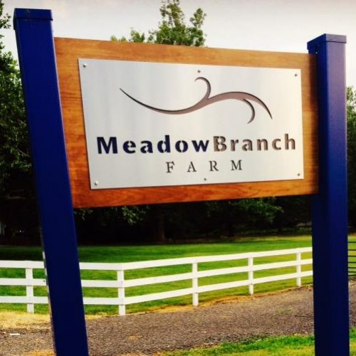 Meadow branch farm sign cropped